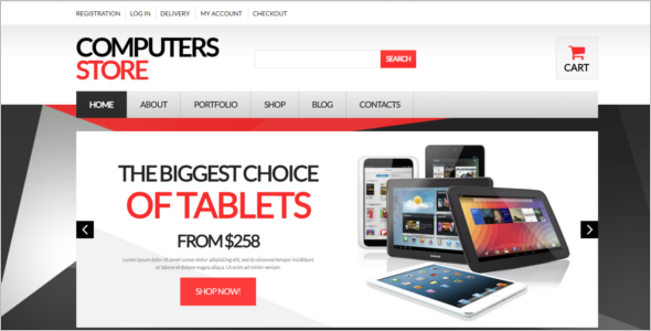 Computer Store HTML Template