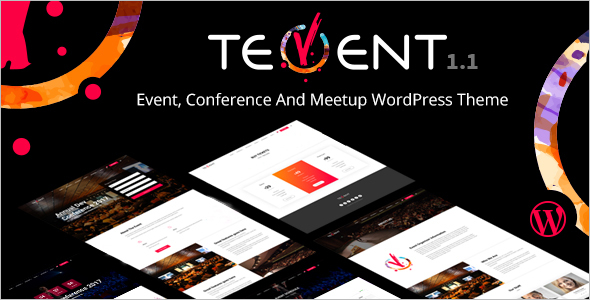 Conference WordPress Theme