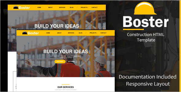 Construction Blog Template
