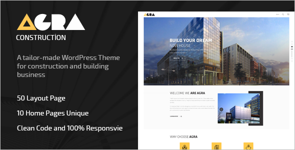 Construction Woocommerce WordPress Theme