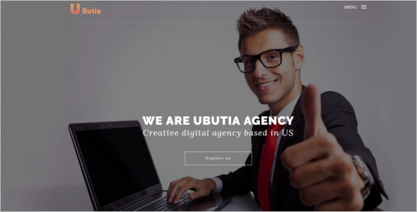 Corporate HTML Web Template