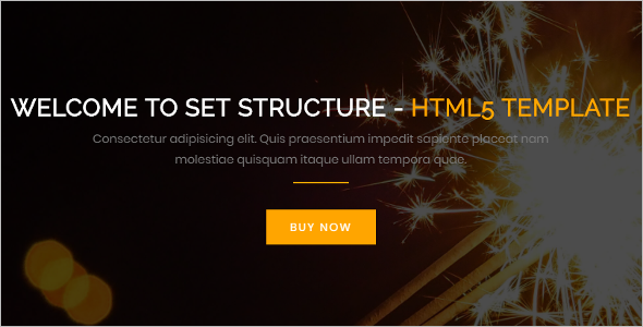Corporate HTML Website Template
