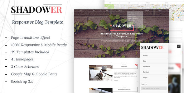 Creative Blog Template
