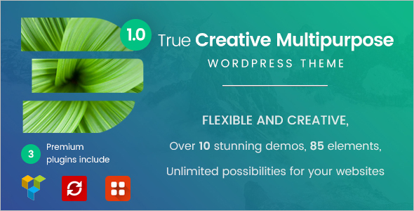 Creative Fashion Store WordPress Theme