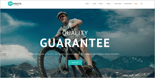 Cycle Shop PrestaShop Theme