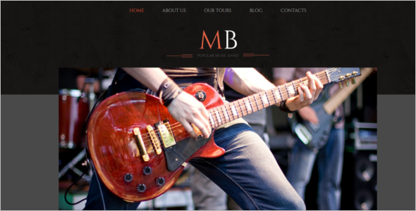 DJ Music WordPress Theme