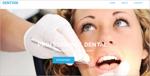 Dental Bootstrap Template