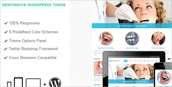 Dental Clinic Bootstrap Theme