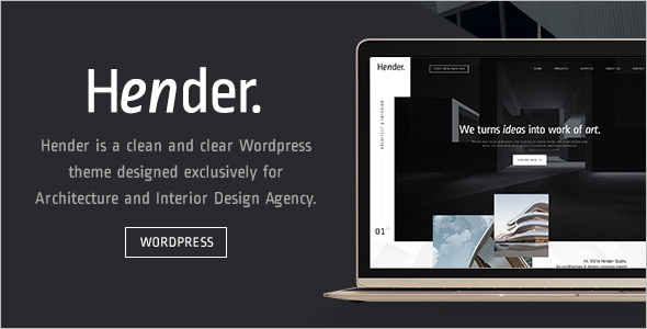 Designer Agency WordPress Theme