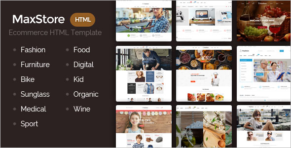 E-Commerce HTML Theme