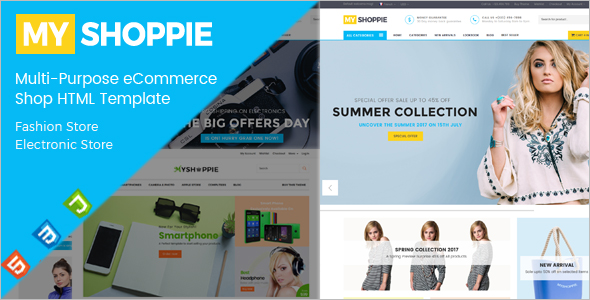 E-Store HTML Website Template