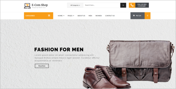 E-Store WooCommerce Template