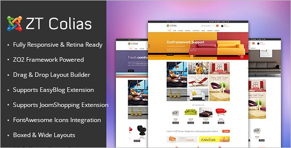 E-commerce Business Joomla Template