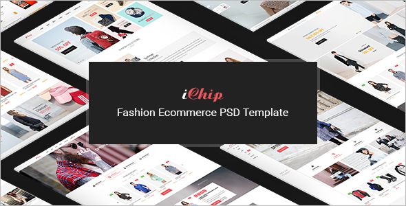 E-commerce Joomla PSD Template