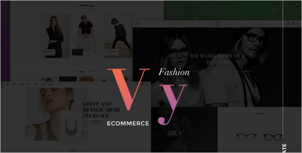 E-commerce Layout Joomla Template