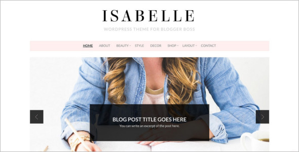 E-commerce WordPress Blog Theme