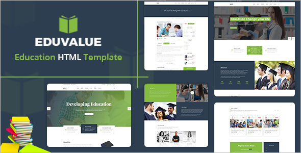 Education Blog HTML Template
