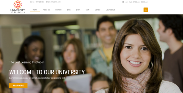 Education Blog Template