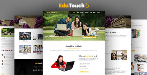 Education Responsive Blog Template