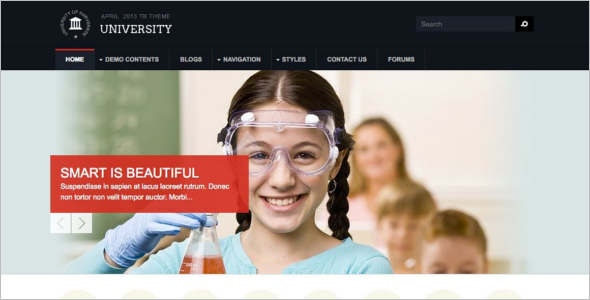 EducationUniversity Drupal Theme