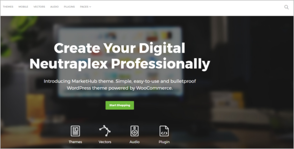 Electronics Store E-Commerce HTML Theme
