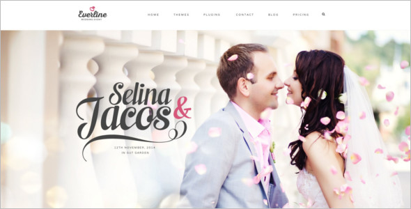 Elegant Wedding Joomla Template
