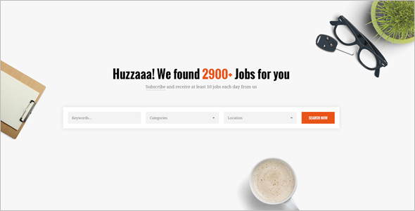 Employment HTML Responsive Template