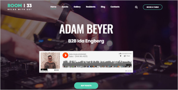 Entertainment Audio WordPress Theme