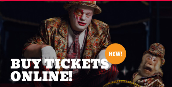 Entertainment Circus WordPress Theme