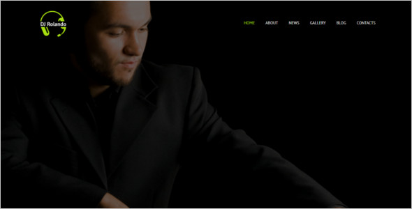 Entertainment DJ WordPress Theme