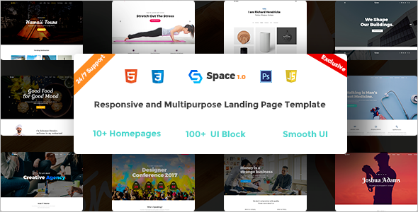 Event Landing Page Template