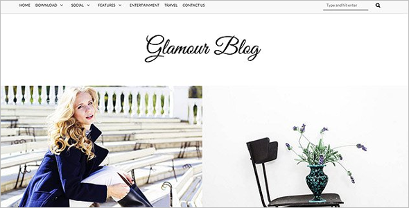 Eye Catching Blog Template