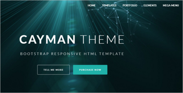 Eye Catching HTML Template