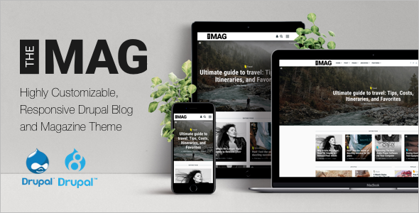 Fashion Blog Drupal Theme