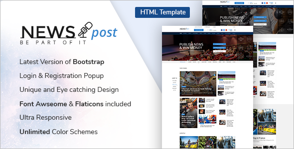 Fashion Bootstrap App Template