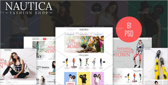 Fashion Bootstrap PSD Template