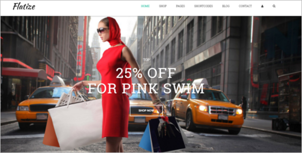Fashion E-Commerce HTML5&CSS3 Template