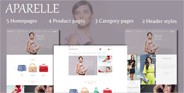 Fashion E-commerce Joomla Template