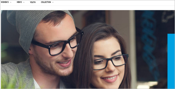 Fashion Eyeware Magento Theme