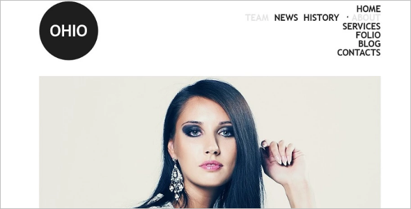 Fashion Model Drupal Theme