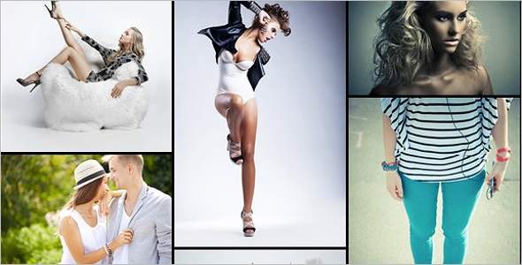 Fashion Photography HTML5 Template