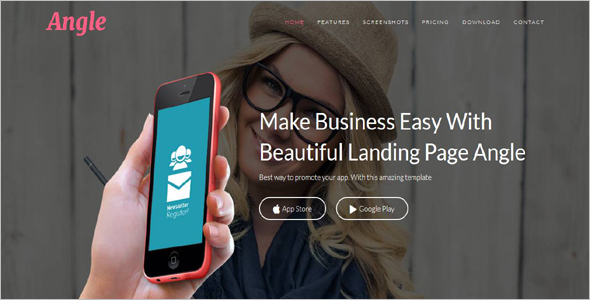 Fashion Responsive Landing Page Theme