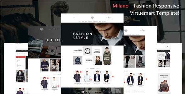 Fashion Store Virtuemart Template