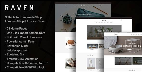Fashion Store WordPress Blog Theme
