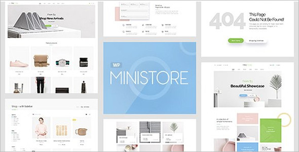 Fashion Store WordPress Theme Model