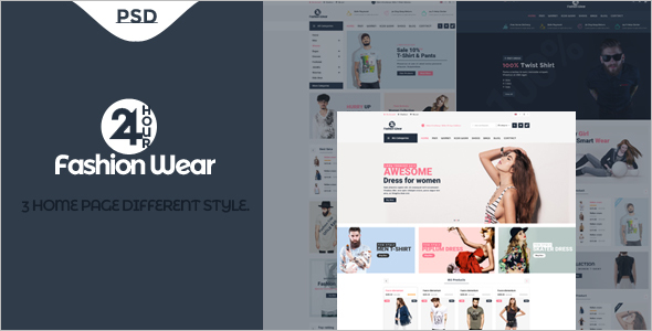 Fashion Wear eCommerce Theme