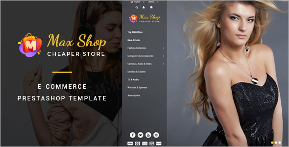 Fashion eCommerce Prestashop Theme