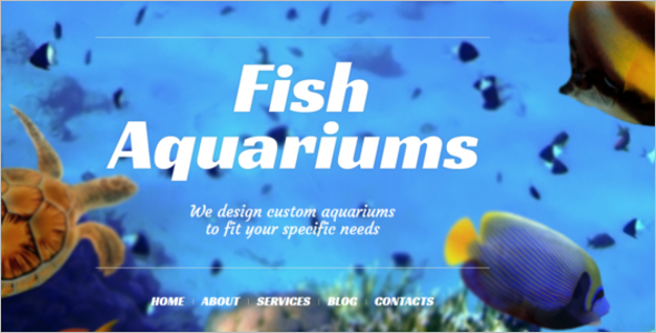 Fish Care WordPress Theme