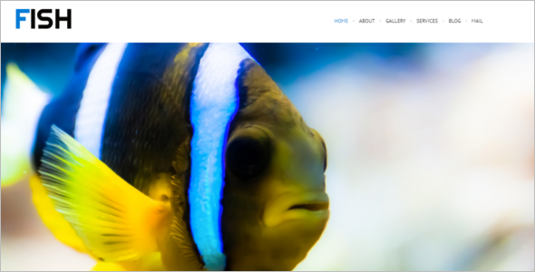 Fish WordPress Theme