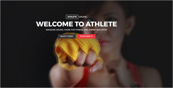 Fitness ClubDrupal Theme